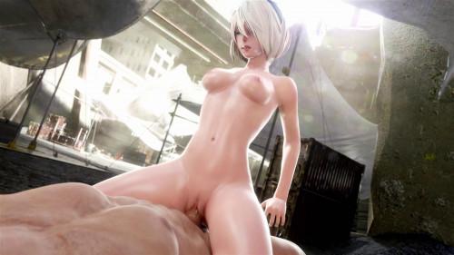 Blonde Nude [2020,All sex,3D]