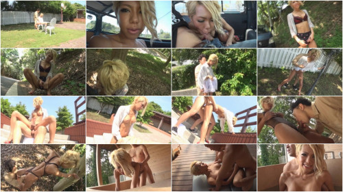 Climax Detonation Anal That Begins Suddenly In Black Transsexual Fucking Exposed Outdoors