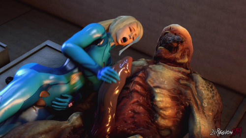 Samus and Unknown Planet 3