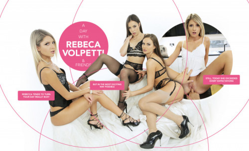 A day with Rebecca Volpetti and Friends [2019,facesitting,european,girlfriend experience]