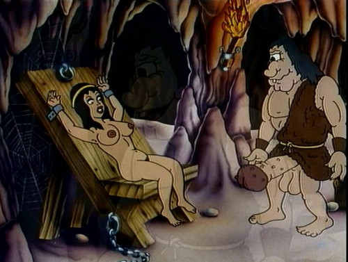 The world of cartoon sex