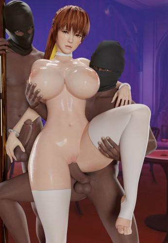 AkiyamaRyo collection [final fantasy vii,mai shiranui,group sex]