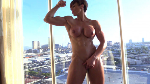Invitation to jerk off with a view