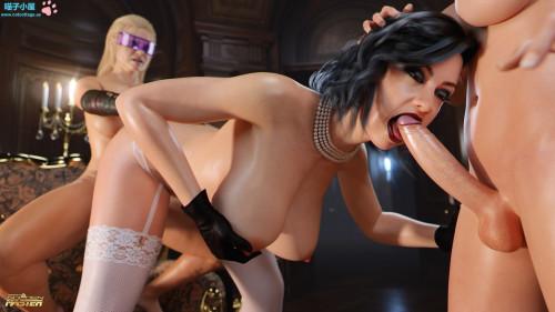 Sex Patrol: Episode 3 – The Transylvanian Fuck Part 1 [3DCG,Threesome,Body Modification]