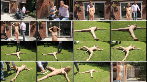 Hard tying, domination and castigation for hawt blond part1 HD 1080p