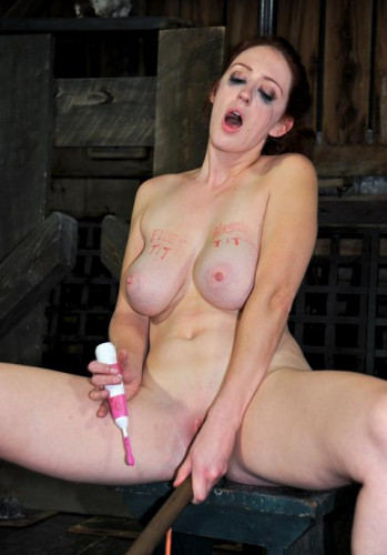 Her tits tied hard