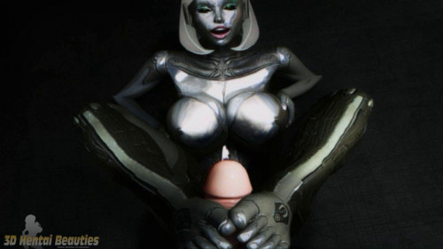 Virtual Robo Pussy Reloaded [2016,Big Tits,Futanari,Blowjob]
