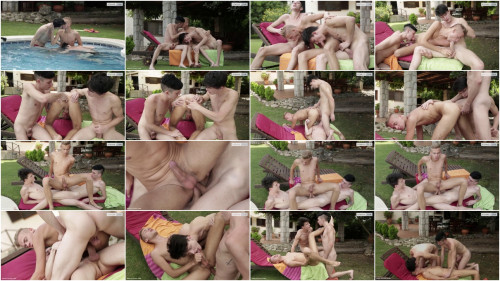 Horny Czech Boys Hard Fuck Outdoor