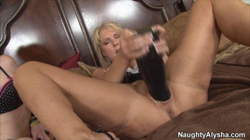 6 Best Clips Naughty Alusha. Part 1. [2020,Fisting and Dildo]