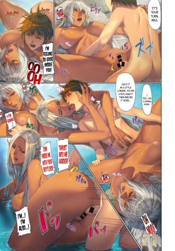 Homare manga [Ahegao,Elf,Big tits]