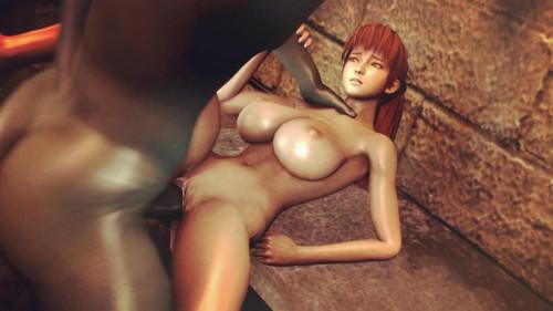 Kasumi the Slave of hell part 3 [2018,Big Ass,Big Dick,Big Tits]