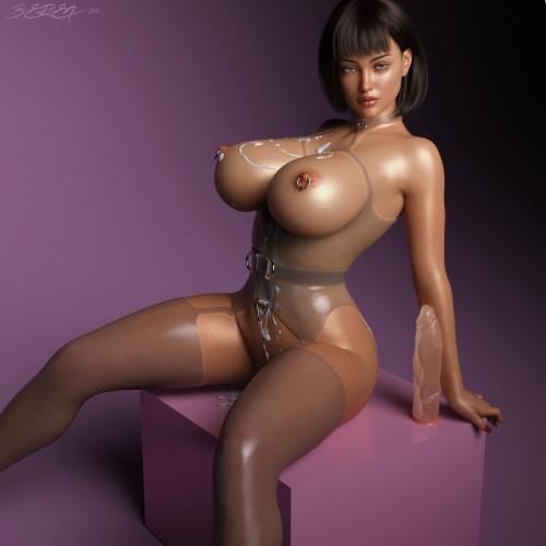 Beren144 - 3D Artwork [big ass,pinup,cum on tits]
