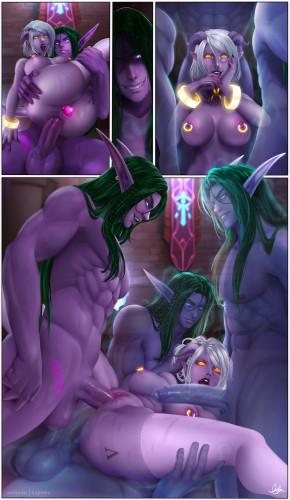 Darkra Collection [fantasy,oral sex,Porn Comics]