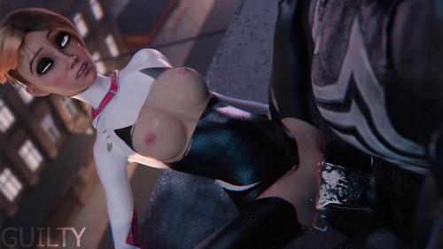 Spider-Gwen x Venom [2020,3D,All sex]