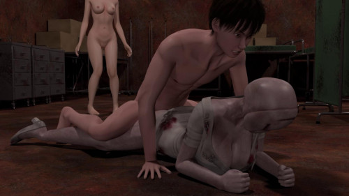 Defeat That Busty Nurse In Silent Hill With Sex and Escape - Full HD 1080p