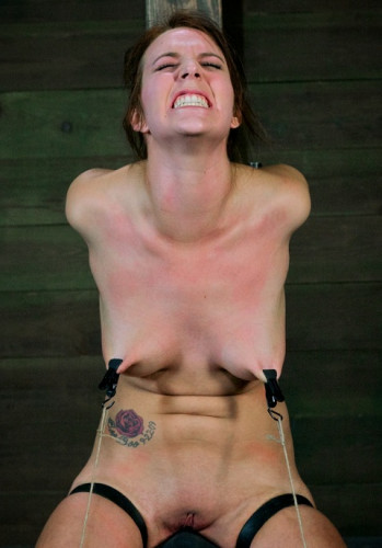 Girl next door Sexually destroyed by a Sybian Brutally skull fucked hard