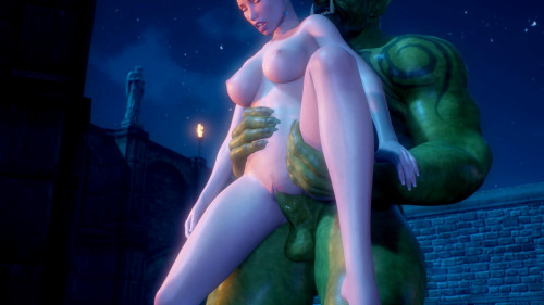 Fairy made from green monster sex