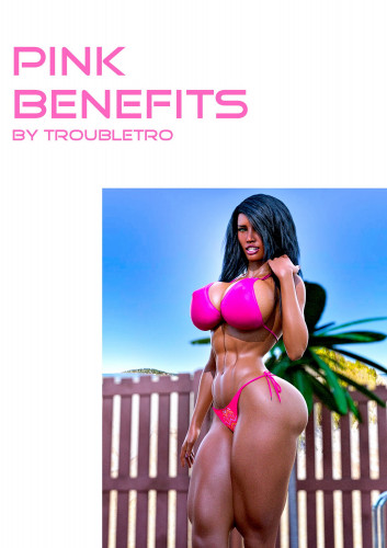 Troubletro - Pink Benefits vol 1-15 [ass expansion,shemale,muscle]