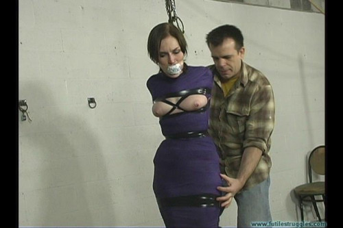 Crying out for help part 9 [2016,BDSM,Futile-Struggles,Rope,Cruel Bondage,Lingerie]