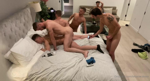 OF - LetsEatCakeXx - Orgy In Los Angeles Part 1