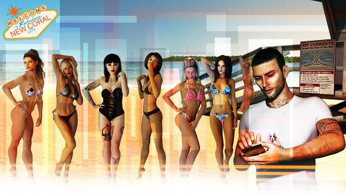 New Coral City v1.5 [Milf,Handjob,Female domination]