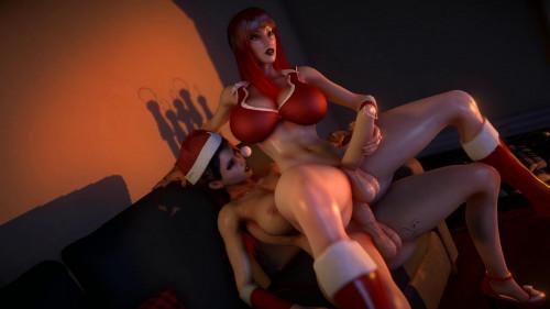 Xmas Big cocks [2020,3D,All sex]