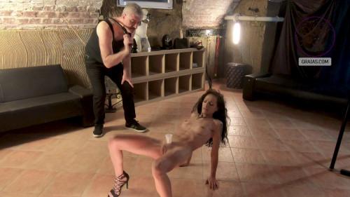Graias - Gigi Return 1 And 2 [BDSM,graias,Maximilian Lomp,Flagellation,Torture,Hardcore]