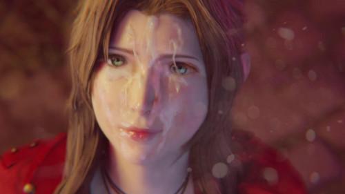 Aerith facial - Original costume [2021,3D,All sex]