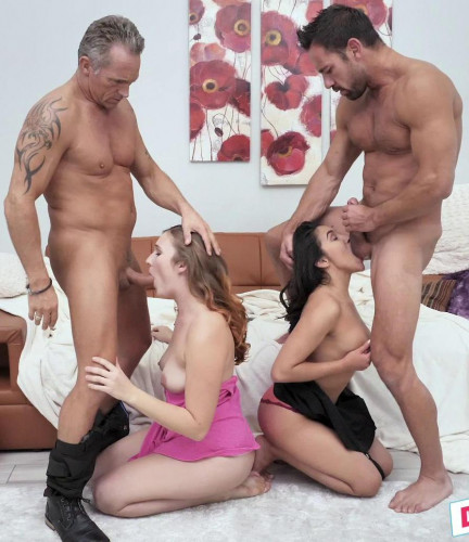 Stephie Staar, Adrian Hush – Cinephile Cum Swapping FullHD 1080p