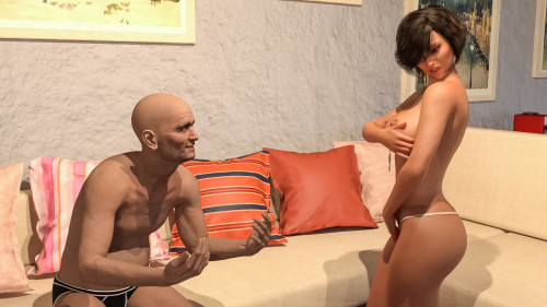 Big Brother [Anal,Sex Traning,3DCG]