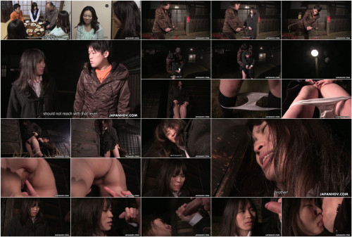 Mai shimizu is engulfing her step- brother s rod after the party