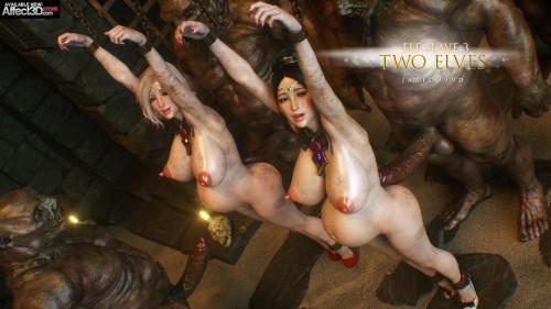 Jared999d - Elf slave vol 1-8 [slave,jared999d,pregnant]