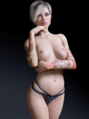 Chase81 [cyberpunk,mask,tatoo]