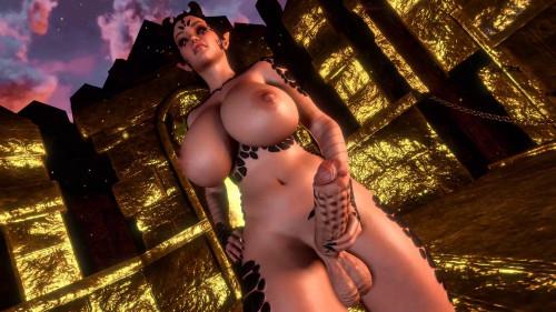 Ina scene 3 [2020,All sex,3D]