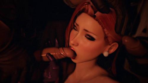 Songbirds Shame [2021,Ahegao,Animated,3DCG]