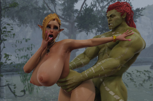 Forest Ruins [sole female,big breasts,paizuri]