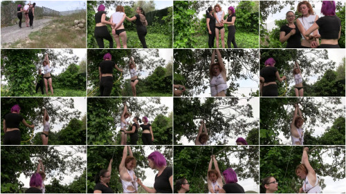 Hunting of Muriel - An Outdoor Bondage Feature - Muriel La Roja - HD 720p