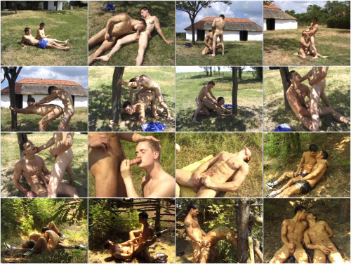 Outdoor Fucking With Farm Boys
