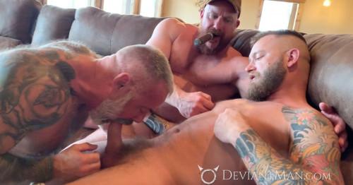 DM - Liam Griffin, Daryl Richter, Eisen Loch