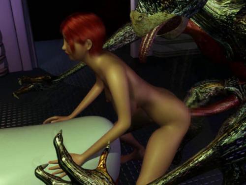 The great space war (Kaiki Eroero Uchu Senso) [2005,Monsters,Big tits,Oral]