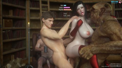 Jared999d - Fallen Lady vol 1-4 [milf,3D Porn Comic,vaginal sex]