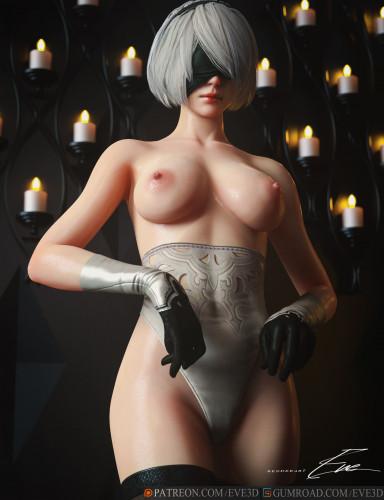 Eve [sexy girls,3D Porn Comic,big ass]