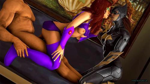 Batgirl (Batman: Arkham) assembly [2021,All Sex,Futanari,Orgy]
