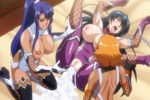 Taimanin Asagi 3 [2017,Anime and Hentai]