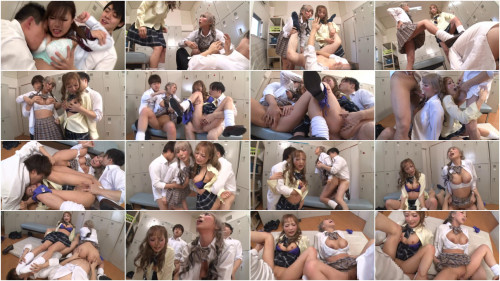 Outrageous Orgy With Asian Schoolgirls
