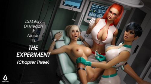 The Experiment Chapter Three [Lactation,Cosplay/Uniform,Lesbian]