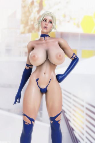 Shassai 3DX Art [3D Porn Comic,big tits,anal]