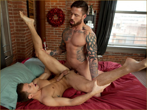 RB - Brett Swanson and Jordan Levine ass fuck for the Holidays