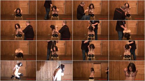 BreastsinPain - Suspension Challenge for Tit Slave Eva