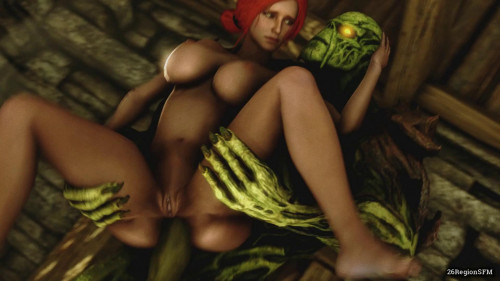 Secret desires of Triss [creampie,blowjob,dp]